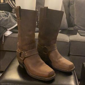 "Original Frye ""harness"" boots"
